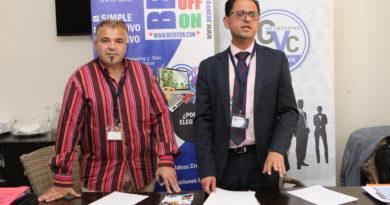 Grupo Valencia Conecta y Agencia de Marketing Beoffon firman acuerdo de marketing empresarial de colaboración.